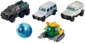 Mattel FMX40 Matchbox Jurassic World Die-Cast 5er-Pack Sortiment