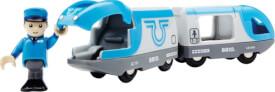 BRIO 63350600 Blauer Reisezug (Batteriebetrieb)