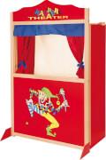 Kasperletheater Holz ca. 78 x 41 x 120 cm