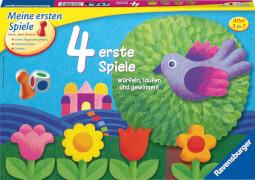 Ravensburger 214174 4 erste Spiele, Kinderspiele