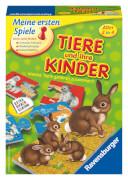 Ravensburger 214037 Tiere und ihre Kinder, Lernspiel