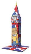 Ravensburger 125890  3D Puzzle Big Ben Minions 216 Teile