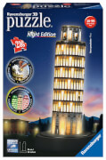 Ravensburger 12515 Puzzle: 3D Pisaturm bei Nacht 216 Teile