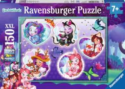 Ravensburger 100545 Puzzle Enchantimals und ihre Begleiter 150 Teile