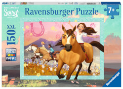 Ravensburger 10055 Puzzle Spirit: wild und frei 150 Teile XXL
