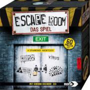 NORIS Escape Room - Das Spiel (4 Fälle) inkl. Chrono Decoder, 2-5 Spieler, 4x60 min, ab 16 Jahre