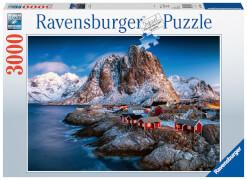 Ravensburger 17081 Puzzle Hamnoy, Lofoten 3000 Teile