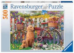 Ravensburger 15036 Puzzle Ausflug ins Grüne 500 Teile