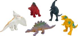 Dino-Skelett zum Ausgraben, sortiert
