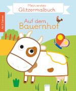 Arena Mein erstes Glitzermalbuch - Auf dem Bauernhof