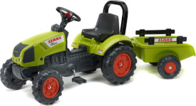 FALK Tret-Traktor Claas mit Hänger 2 - 5 Jahre