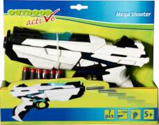 Outdoor active Mega Shooter, inklusive 6 Darts