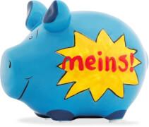 Sparschwein ''Meins!'' - Kleinschwein von KCG - Höhe ca. 9 cm